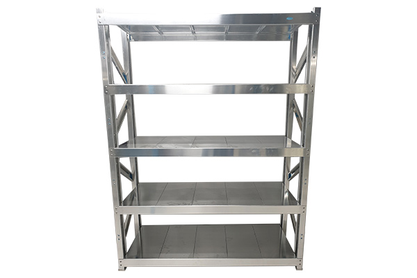 Aluminium Rack Manufacturer - SS Slotted Angle Rack with